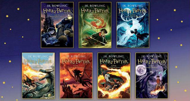 Harry Potter roman serisi yeni baskılarıyla raflardaki yerini aldı.