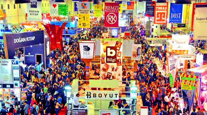 İstanbul Kitap Fuarı'na pek çok yayınevi katılacak.