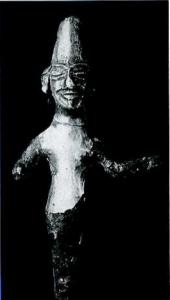 Altın Varak Kaplı tanrı heykelciği