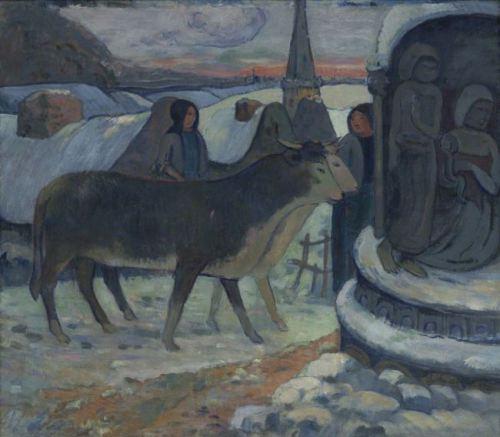 """Paul Gauguin """"Kutsanan Öküz"""" (1894)"""