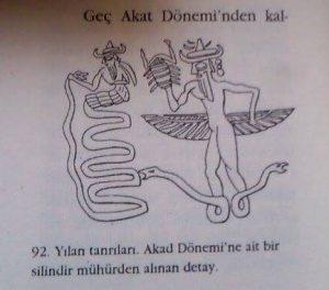 Resim 12: yılan tanrı