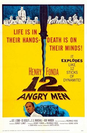 12 Öfkeli Adam film afişi