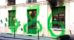 Kidult'un ünlü pek çok grafitisi vardır.