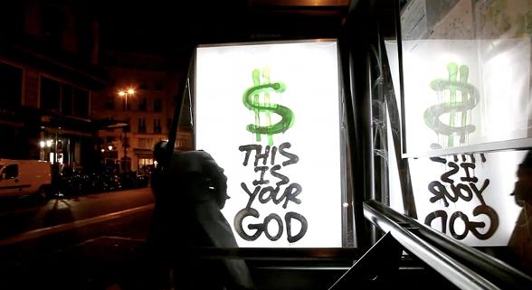 Kidult, sistem karşıtı bir sokak sanatçısıdır.