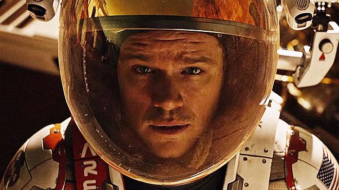 """The Martian """"Marslı"""" iddialı bir yapım olarak 2016 yılına damga vuracağa benziyor."""
