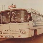 Şehre inen tek otobüsümüz Magirus; sabah akşam camda beklenen…