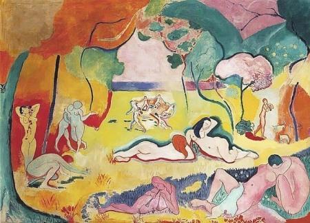"""Henri Matisse """"Bonheur de Vivre"""""""
