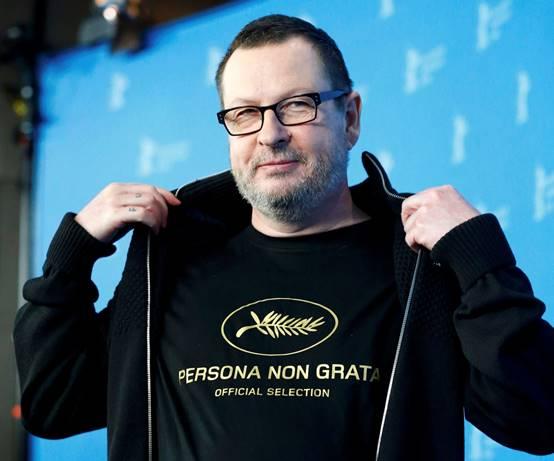 Hitler'e sempati beslediğini belirten açıklamalarından sonra Cannes film festivalin istenmeyen adamı haline gelen Lars Von Trier.