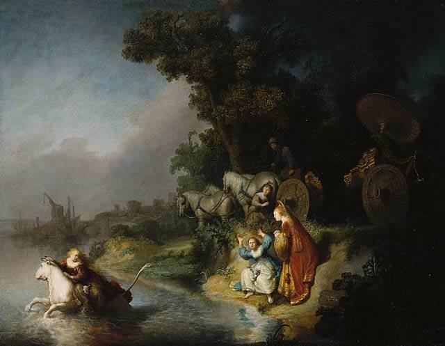 Rembrandt - Europa'nın Kaçırılması