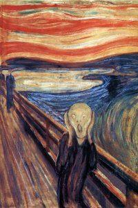 Bir yerde tik tak eden saat hiç durmuyor. Van Gogh'un o ünlü resmini anımsatıyor.
