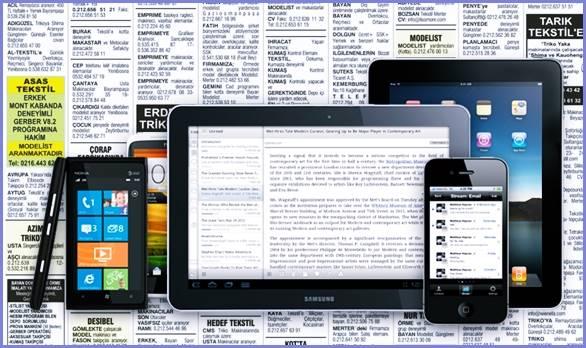 Gazete ilanları, yerini iş ilanları web sitelerine bıraktı.
