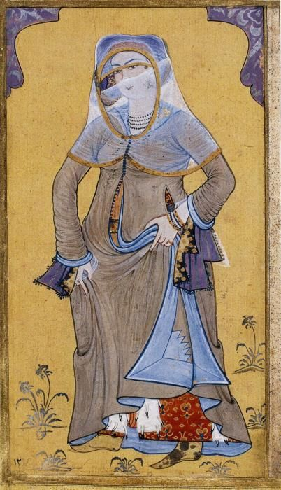 Resim 3. Feraceli Hanım, Levni, y.1720-25