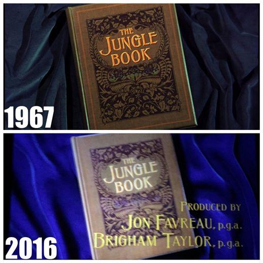 İki filmin karşılaştırılması: The Jungle Book
