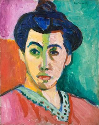 "Henri Matisse - Mademe Matisse, ""The Green Line"",1905"