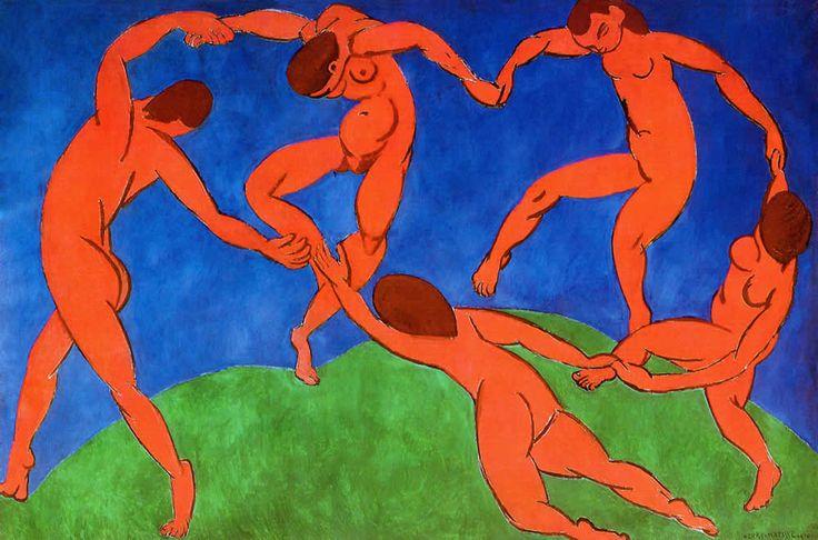 "Matisse ""La Danse, 1909-10"""