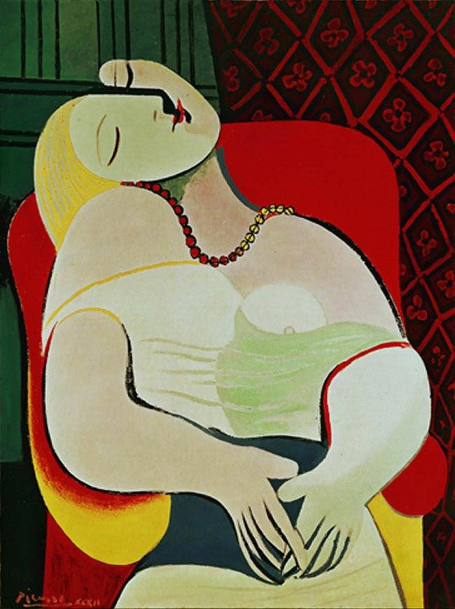 """Picasso; """"The Dream, 1932"""""""