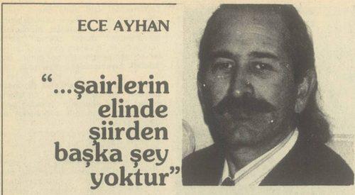 "Ece Ayhan ""Mor Külhani"""