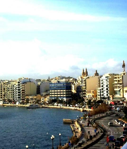 Malta Sliema, İstanbul'un Caddebostan'ı, Malta'nın kalbi.