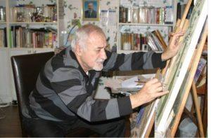 """Erdoğan Keskin'in 54. sanat yılı adına düzenlediği serginin adı """"Ağaçların Sessizliği"""" retrospektif resim sergisi 1964 yılından beri çalışmalarını içerir nitelikte."""