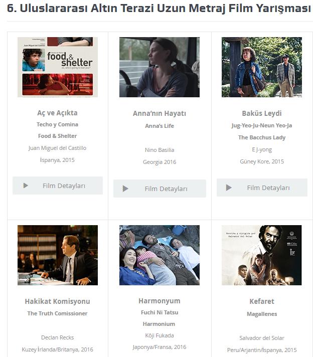 Uluslararası Altın Terazi Uzun Metraj Film Yarışması