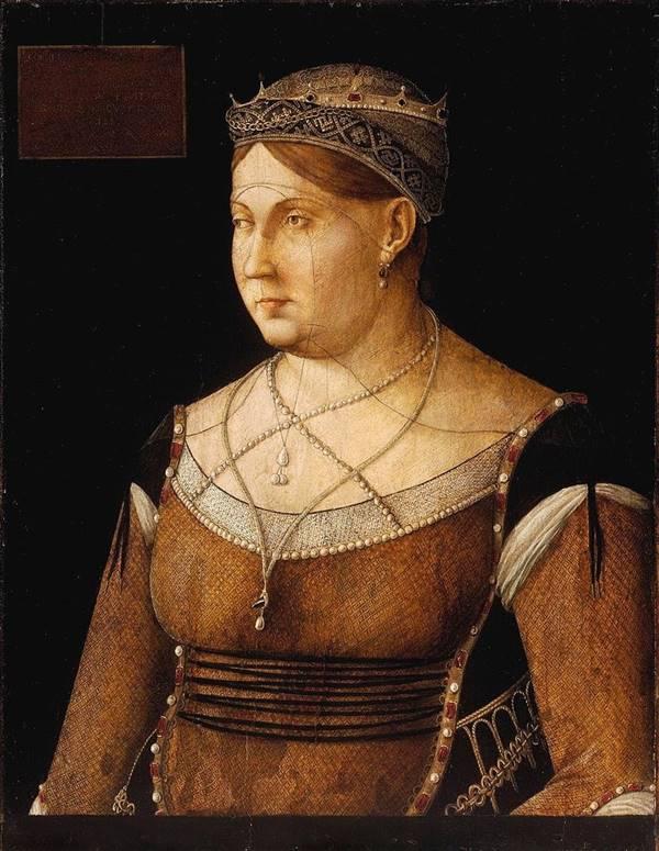 Catherine Cornaro'nun Portresi, Gentile Bellini