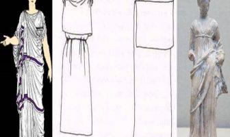 Antik Yunan'da kadın Kıyafetleri