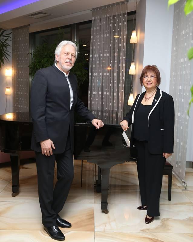 Şef Ender Sakpınar ve Besteci Pınar Köksal