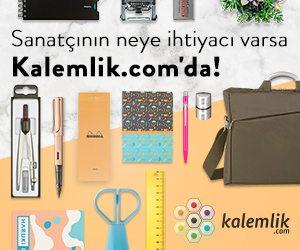 kalemlik.com'dan Sanat Duvarı okurlarına 25 TL hediye çeki