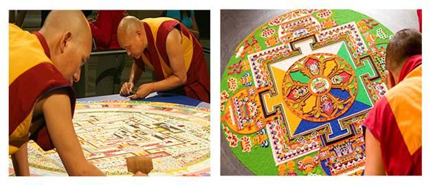 Budistler ve Mandala
