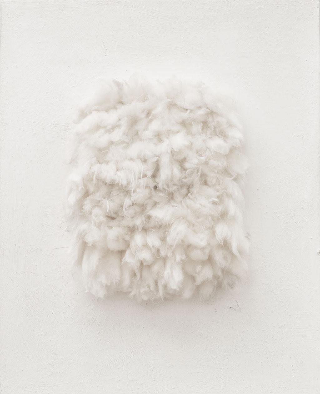 Piero Manzoni (1933 – 1963) Achrome, 1959-62 Ahşap üzerine pamuk 92 x 73 x 12 cm Özel Koleksiyon