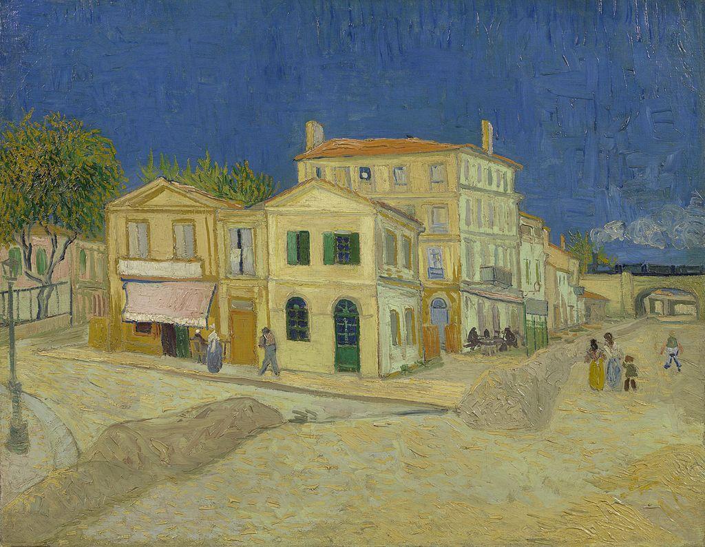 Van Gogh'un Arles'deki evi.