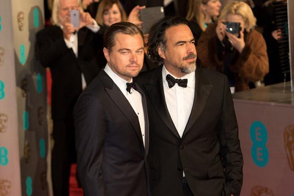 Leonardo DiCaprio ve Alejandro González Iñárritu 2016 yılından çok şeyler bekliyor gibi.