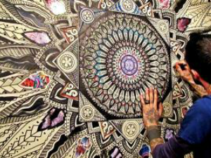 Mandala, büyülü çember olarak da adlandırılıyor.