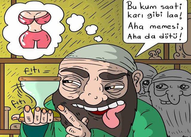 """Abdullah Kara'nın karikatürü ile """"Yobaz Nedir, Kime Yobaz Denilir?"""""""