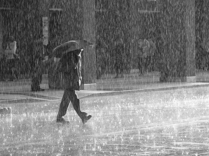 Yağmurlu ve Soğuk Bir Gündü