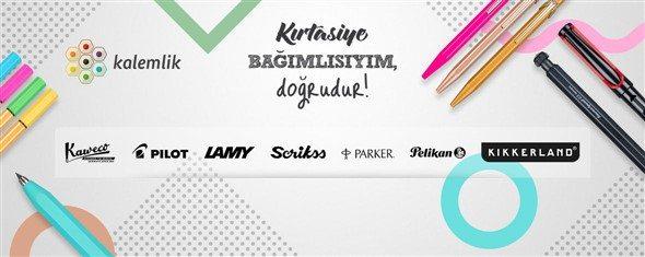 Kırtasiye bağımlılarının sitesi Kalemlik.com