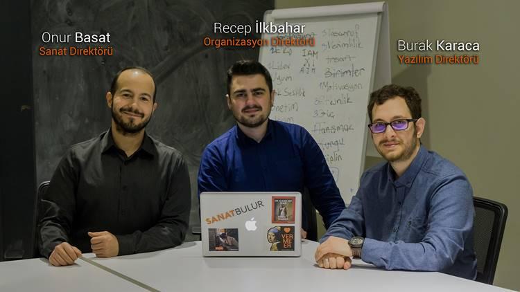 SanatBulur.com'un kurucu ortakları