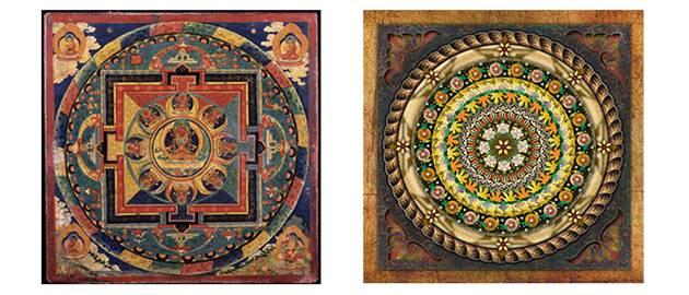 Mistik Mandala Örnekleri