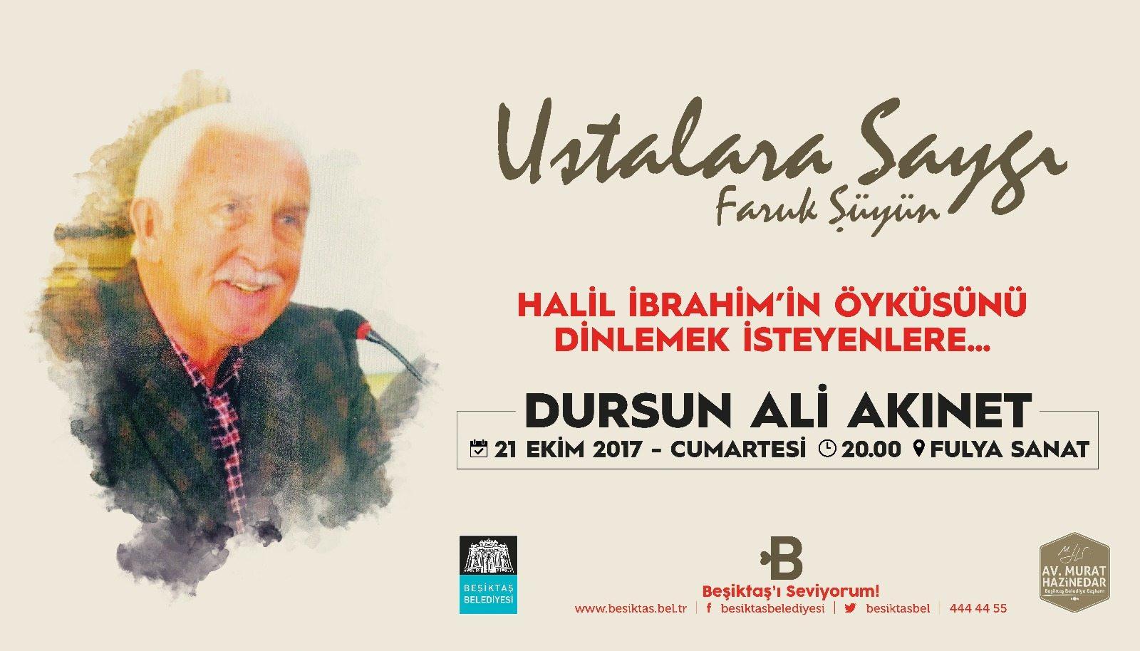 Dursun Ali Akınet'e Saygı Gecesi