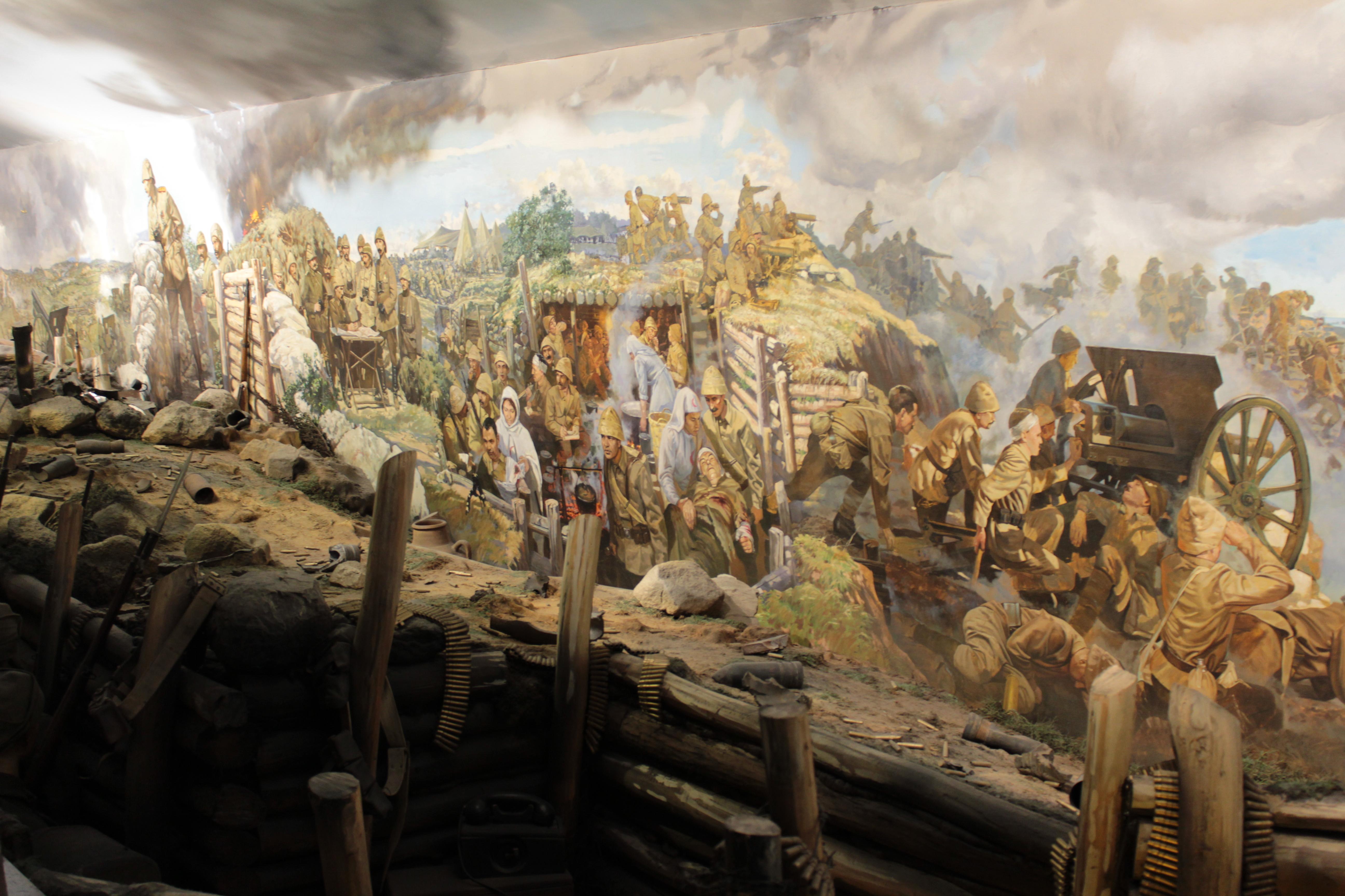 Maketlerle Canlandırılan Kurtuluş Savaşı